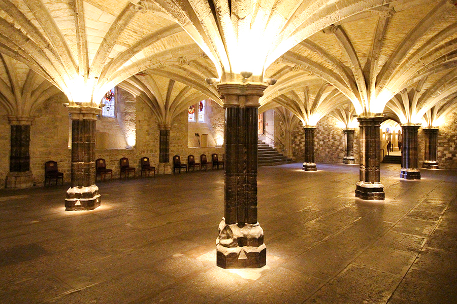 Guildhall East and West Crypts